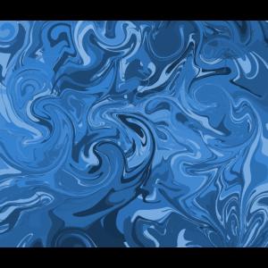 Abstrakter blauer Ozean