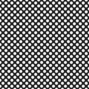 Polka Dot Schwarzweiss-Muster