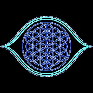 Flower Of Life Eye Of God 2