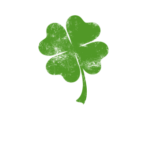 Lucky Irish 4 Leaf Clover Gesichtsmaske Shamrock