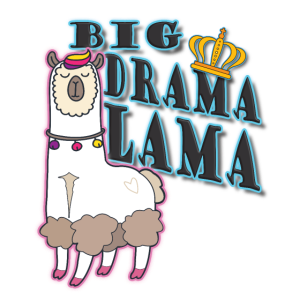 Drama Lama Zicke Dramaqueen Geschenk lustig Krone