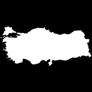 Land - Türkei - Grenze - sw