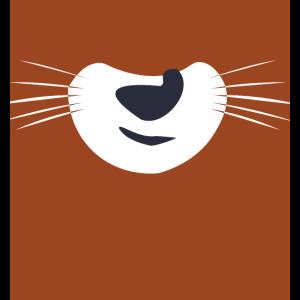 süßer Fuchs Mundschutz