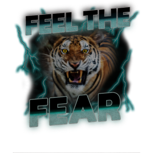 Tiger Feel The Fear Thunder Vintage Shirt
