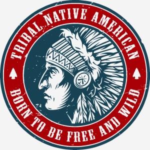 Stammes-Indianer