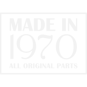 Oldtimer 1970 All Original Parts