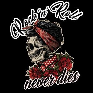 Damen Rockabilly Girl Vintage Retro Rock n Roll