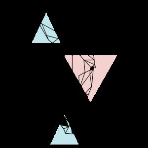 geometrisches Pferd
