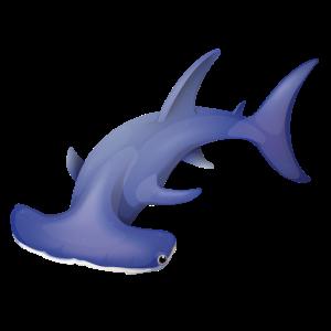 Hammerhai Hai Design für Taucher