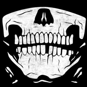 Maske Skelett
