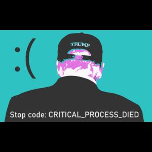 Trump Blue Screen of Death