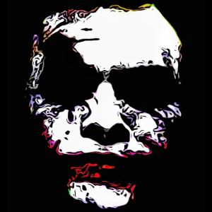 Joker Skull Gesichtsmaske