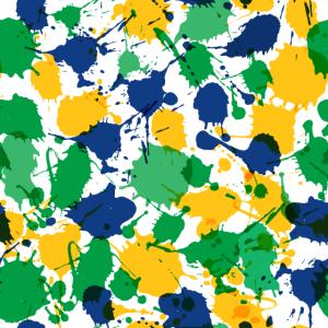 SPLASH Flecken Farbspritzer Kleckse Farben