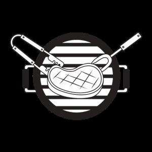 Grill Barbecue Fleisch Steak Grillzange