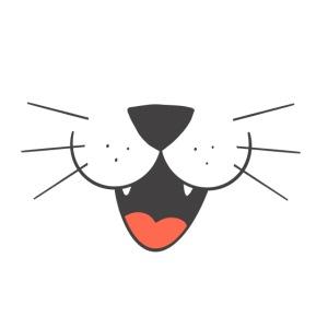 Lächeln Katze