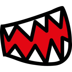 Lachen Zähne Mund Gesichtsmaske Mundbedeckung