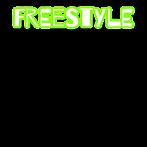 Freestyle shirt | Geschenk modern glow
