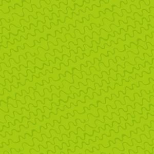 Abstrakte Linien, handgezeichnet in Grün