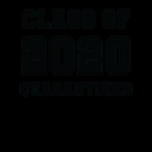 Klasse von 2020 unter Quarantäne gestellt - Geschenk für einen Absolventen