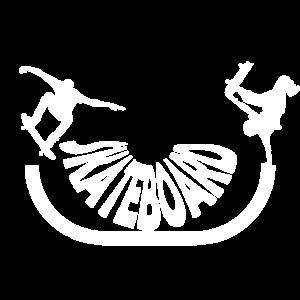 skateboard halfpipe