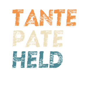Tante Pate Held Taufpate Geschenk Familien