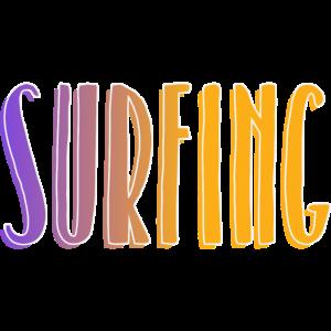 Surfen Wellenreiter