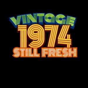 1974 Vintage Geburtstag