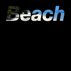 Beach Strand Meer Sand Geschenk Idee