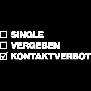 Single und Kontaktverbot