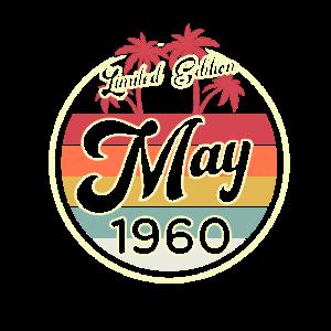 Vintage Mai 1960 Fun 60. Geburtstags Geschenk