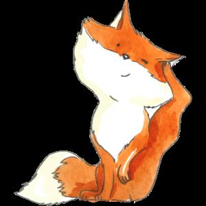 Foxy scratching