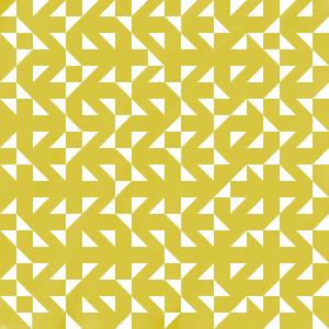 Goldenes Muster Ecken