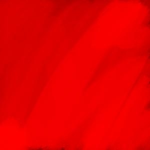 Rot wie die Liebe und das Blut in Wassserfarben