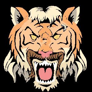 Tiger König,Frisur, Vokuhila,Mullet King Gay Shirt