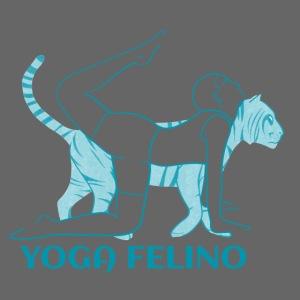 t shirt design YOGA FELINO