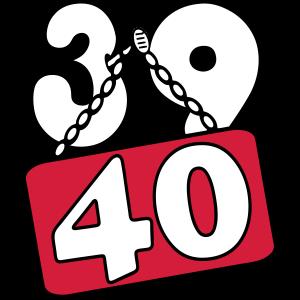 39 , 40 . Geburtstag .../+