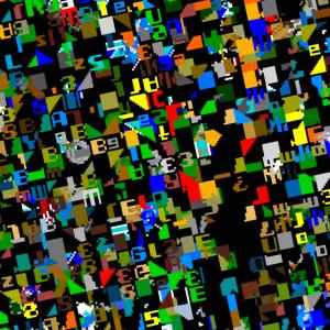 booting1982a Retro-Gaming Pixelart Gesichtsmaske