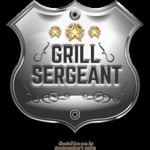 Grill Sergeant Abzeichen für Griller