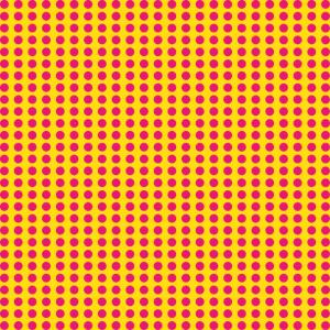 Punkte Rosa Gelb