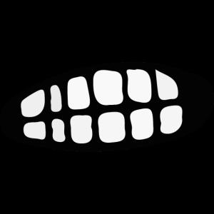 Mund Grr Grimmig Grimasse Zähne