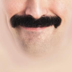 Schnurrbart Gesichtsmaske | Mundschutz Lustig