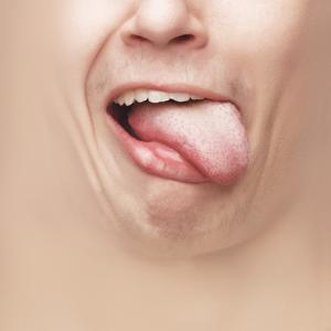 Zunge | Lustige Mundschutz Masken Gesicht Witzig