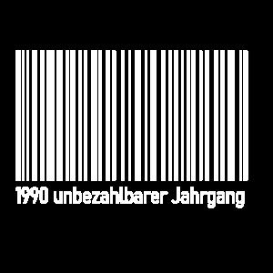 30 Geburtstag Geschenk zum 30 Jahrgang 1990