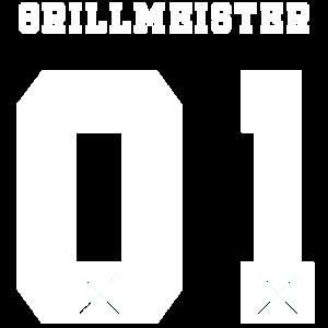 Grillmeister Nummer 1 Trikot Grillen