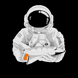 Astronaut Space Shuttle Weltall Raumfahrt Geschenk