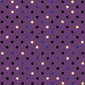 Punkte Polka Dots 50er Jahre farbig lila