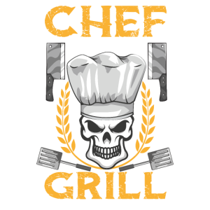 Chef am Grill Barbeque Grillen