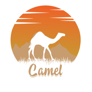 Kamel in der Natur