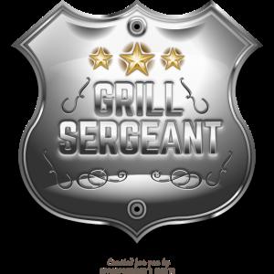 Grill Sergeant T Shirt für Profigriller