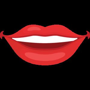 Roter Mund